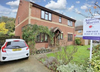 Thumbnail 2 bed semi-detached house for sale in Steele Avenue, Greenhithe