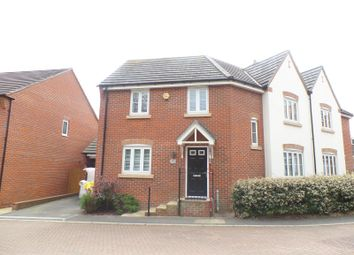 Thumbnail 3 bed detached house to rent in Dumas Drive, Whiteley, Fareham