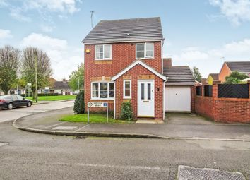 Thumbnail 3 bed detached house for sale in Viyella Mews, Hucknall, Nottingham