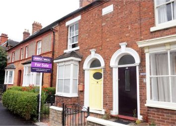 Thumbnail 2 bed end terrace house for sale in The Burgage, Market Drayton