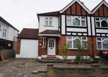 Thumbnail 3 bed semi-detached house to rent in Rydal Gardens, South Kenton, Middlesex