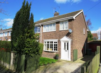 Thumbnail 3 bed semi-detached house for sale in Chestnut Drive, Holme-On-Spalding-Moor, York