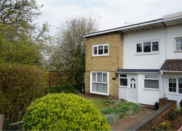 Thumbnail 3 bedroom end terrace house for sale in Nodes Drive, Stevenage
