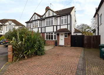 Thumbnail 4 bedroom semi-detached house for sale in Templedene Avenue, Staines-Upon-Thames, Surrey