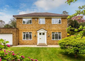 Thumbnail 4 bed detached house for sale in Huntersfield Close, Reigate