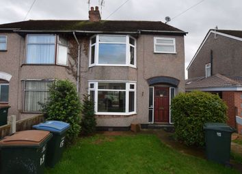 Thumbnail 3 bed semi-detached house to rent in Elm Tree Avenue, Tile Hill, Coventry