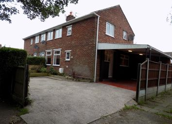 Thumbnail 3 bed semi-detached house for sale in Larch Close, Weaverham, Northwich