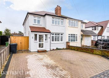 Thumbnail 4 bed semi-detached house for sale in Willow Way, Ewell, Epsom