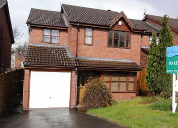 Thumbnail 4 bed detached house to rent in Claremont Road, Penn, Wolverhampton