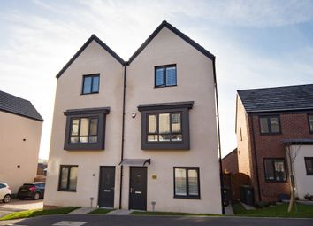 Thumbnail 3 bedroom town house for sale in Heol Booths, Old St. Mellons, Cardiff