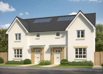 """Thumbnail 3 bedroom semi-detached house for sale in """"Craigend"""" at Prospecthill Road, Motherwell"""