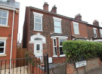 Thumbnail 3 bed end terrace house for sale in Carrow Road, Norwich