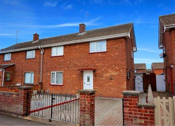 Thumbnail 3 bed semi-detached house for sale in Feldale Place, Peterborough