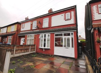 Thumbnail 3 bed semi-detached house for sale in Victoria Road, Urmston, Manchester