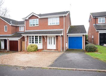 Thumbnail 4 bed detached house for sale in St Wilfrids Close, Kibworth, Leicester