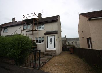 Thumbnail 2 bed end terrace house for sale in Kerse Avenue, Dalry, Ayrshire