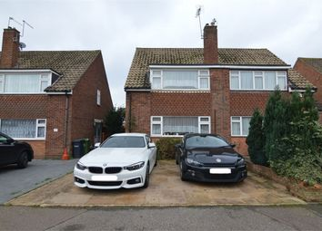 Thumbnail 3 bedroom semi-detached house to rent in Ousden Drive, Cheshunt, Cheshunt, Hertfordshire