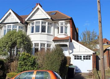 Thumbnail 3 bed semi-detached house for sale in Bidwell Gardens, Muswell Hill Borders, London
