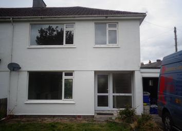 Thumbnail 3 bed semi-detached house to rent in Mount Carbis Road, Redruth