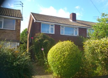 Thumbnail 2 bed maisonette to rent in Birchen Grove, Luton
