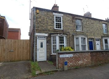 Thumbnail 2 bedroom end terrace house for sale in 23 Marsh Walk, Wisbech, Cambridgeshire