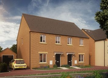 Thumbnail 3 bed semi-detached house for sale in Plot 3 The Deene, Laxton Gardens, Oundle