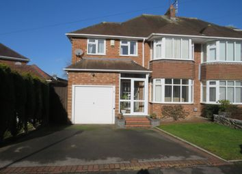 Thumbnail 4 bedroom semi-detached house for sale in Clive Road, Balsall Common, Coventry