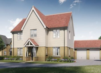 Thumbnail 4 bed detached house for sale in The Maxwell, Four Elms Place, Main Road, Chattenden, Rochester