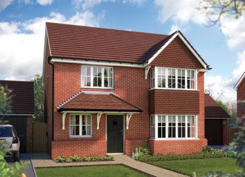 "Thumbnail 4 bed detached house for sale in ""The Canterbury"" at Withybed Lane, Inkberrow, Worcester"