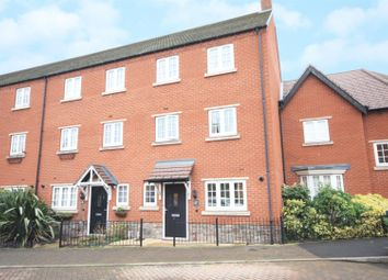 Thumbnail 4 bed town house for sale in Empingham Drive, Syston, Leicester
