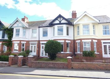 Thumbnail 4 bed terraced house for sale in Ashley Avenue, Folkestone