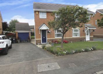 Thumbnail 3 bed semi-detached house for sale in Lonsdale Drive, Toton, Beeston, Nottingham