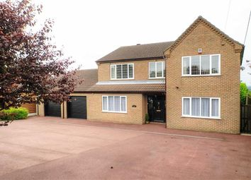 Thumbnail 5 bed property for sale in Melton Road, Wrawby, Brigg