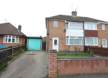 Thumbnail 2 bedroom semi-detached house for sale in Sandringham Avenue, Earl Shilton, Leicester
