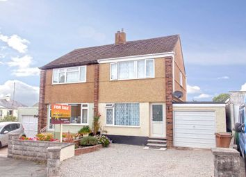 Thumbnail 3 bed semi-detached house for sale in Woodlands, Plymstock