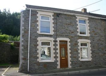 Thumbnail 3 bedroom end terrace house for sale in Afon Street, Trehafod, Pontypridd