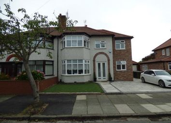 Thumbnail 4 bed semi-detached house for sale in Coronation Drive, Merseyside, Liverpool, Merseyside