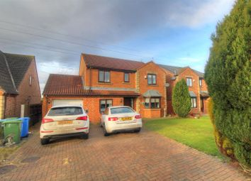 Thumbnail 4 bed detached house for sale in Maythorne Drive, South Hetton, Durham