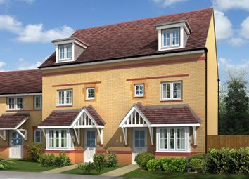 "Thumbnail 4 bed semi-detached house for sale in ""Woodbridge"" at Bruntcliffe Road, Morley, Leeds"