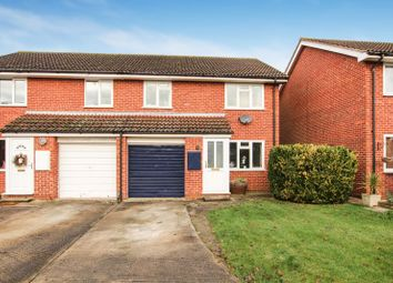 Thumbnail 3 bed semi-detached house for sale in Turnberry Close, Bicester
