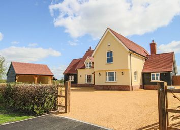 Thumbnail 4 bedroom detached house for sale in Water End, Ashdon, Saffron Walden