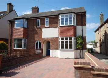 Thumbnail 4 bedroom semi-detached house to rent in Ware Road, Hertford