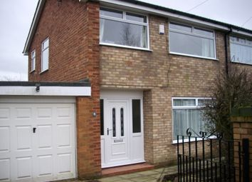 Thumbnail 3 bed semi-detached house to rent in Renfrew Avenue, Laffak, St Helens