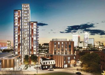 "Thumbnail 1 bed flat for sale in ""Lime Quarter Tower Type 8"" at Devons Road, London"