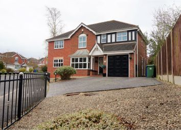 Thumbnail 5 bed detached house for sale in Redcar Close, Mansfield