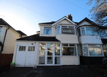 Thumbnail 4 bed semi-detached house for sale in Forest Road, Oldbury, Birmingham, West Midlands
