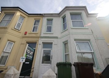 Thumbnail 1 bed flat to rent in Wolseley Road, Plymouth