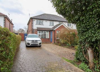 Thumbnail 3 bedroom semi-detached house for sale in Church Lane, Woodford, Stockport