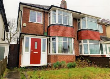 3 bed semi-detached house for sale in Tessall Lane, Rednal, Birmingham B31