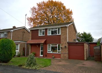 Thumbnail 3 bed detached house for sale in Meadowfield Road, Sawston, Cambridge